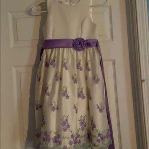 Girls formal floral dress